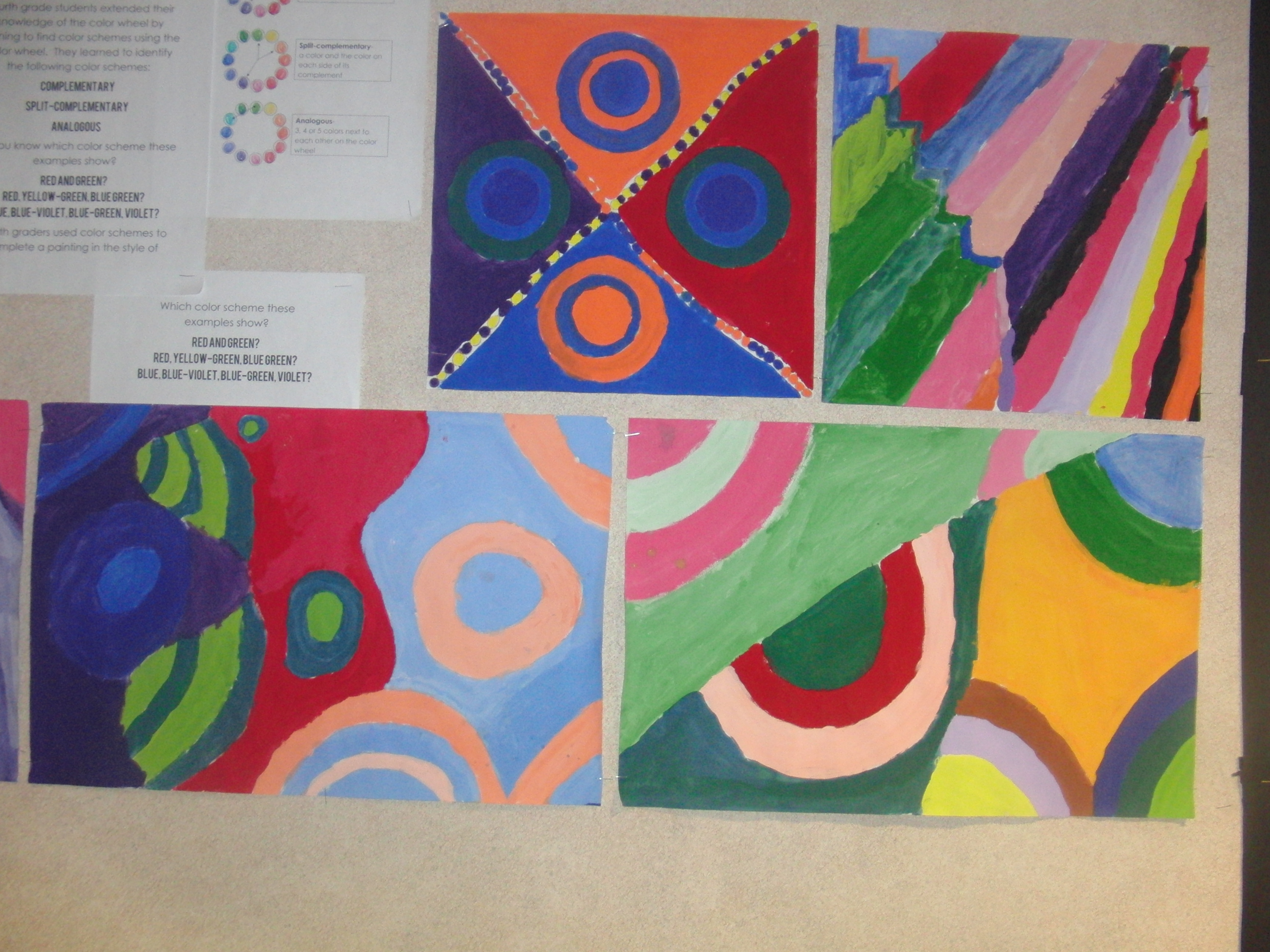 Final Color Scheme Works From Fourth Grade